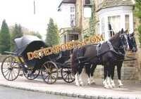 HORSE DRAWN CARRIAGE VICTORIA 6534