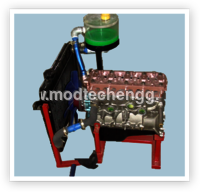 Cut Section Model Of Lubrication & Cooling System