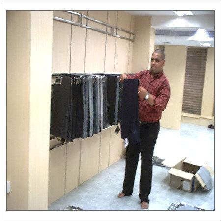 Trouser Hanging Shelving