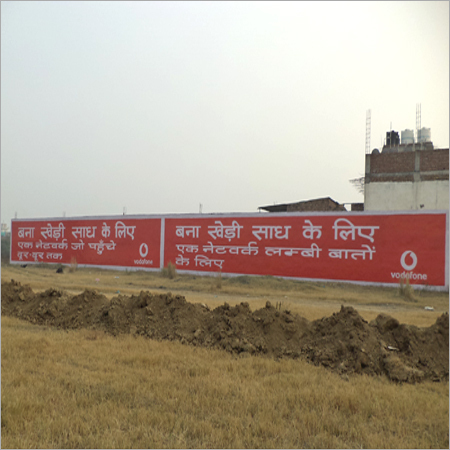 Wall Painting Advertising