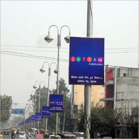 Street Pole Advertising