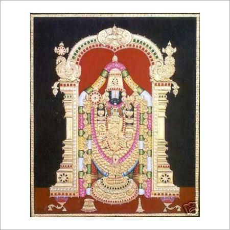 Lord Venkateshwara Tanjore Paintings