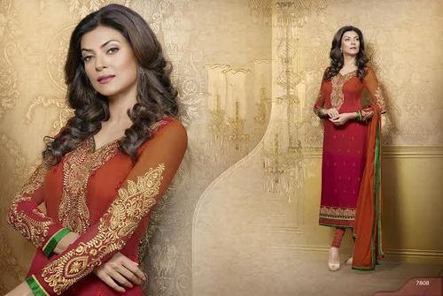 Attractive Embriodered Salwar Kameez