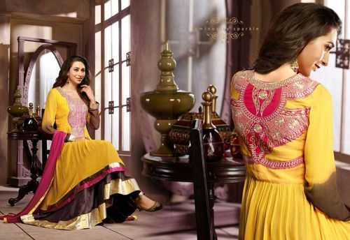 Yellow Designer Wear