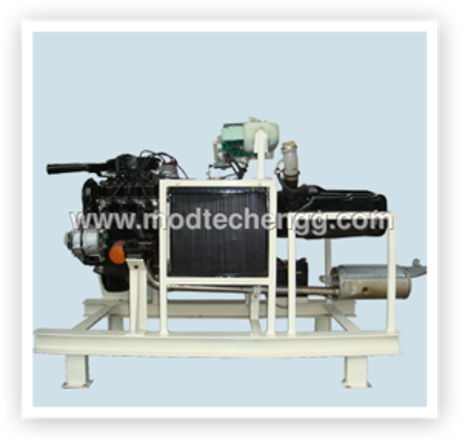 FOUR STROKE PETROL CARBURATOR ENGINE SETUP FOR PRACTICE