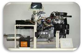 Four Stroke Petrol Carburettor Engine For Practice