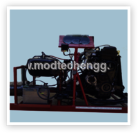 Four Stroke Petrol Mpfi Engine Setup For Practice