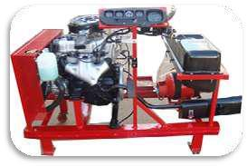 4 Stroke Petrol Carburator Engine With Lpg Setup