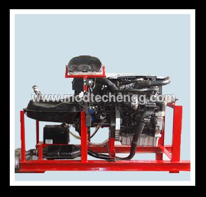 Four Stroke Diesel Engine Setup