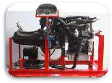 Four Stroke Diesel Engine Setup