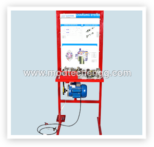 INSTRUCTION BOARD FOR CHARGING SYSTEM