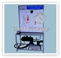 INSTRUCTION BOARD FOR AIR BAG SYSTEM