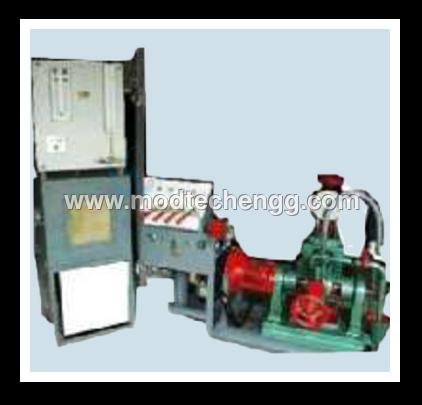 Four Stroke Four Cylinder Petrol Engine Test Rig