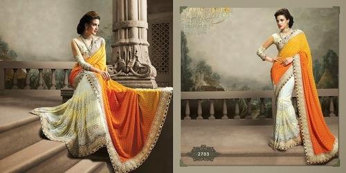 Designer Wear Heavy Saree