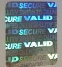 Secure valid authentic genuine