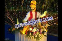 Punjabi Wedding Entrance Dancing Statue