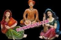 Wedding Rajasthani Fiber Statue Set