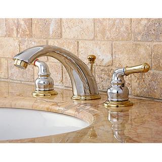 Polished Brass Bathroom Faucet