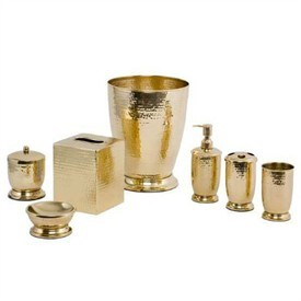 Brass Bathroom Set