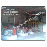 Ammonia Liquid Overfeed Pumping