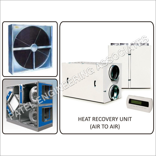 Heat Recovery Unit - Air to Air