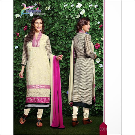 Embriodered & Printed Suit