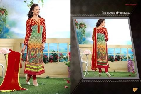 Printed Georgette Suit