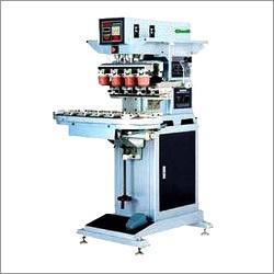 Four Color Pad Printing Machine