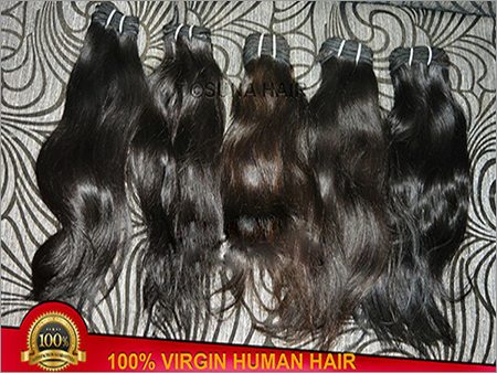 natural Indian unprocessed human hair extension