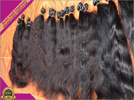 Machine Weft High Quality Real Remy Silky Straight Virgin Human Hair Extension