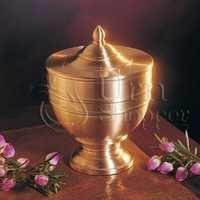 Inspiration Brass Metal Token Cremation Urn