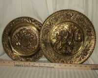 Brass Wall Hanging Plate