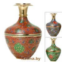 Brass Carvings Vases Handicrafts