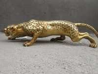 Leopard Brass Figure