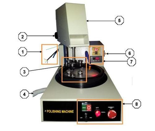 Semi-Automatic Polishing Machine
