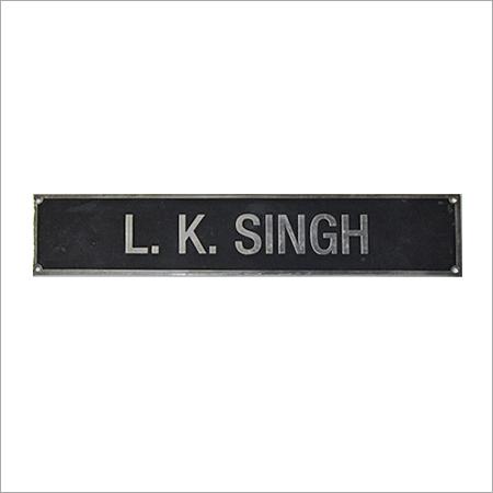 Name Plate Digital Printing