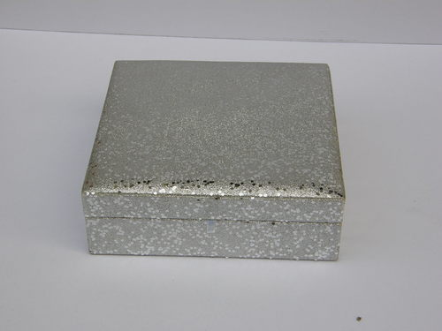 Shinning Silver Color Jewelry Box