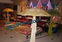 ASIAN WEDDING MEHANDI NIGHT STAGE SET