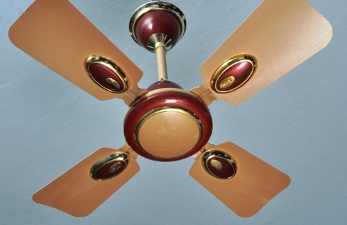 Metallic 24 Inches Ceiling Fan
