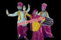 Rangla Punjab Haveli Statues