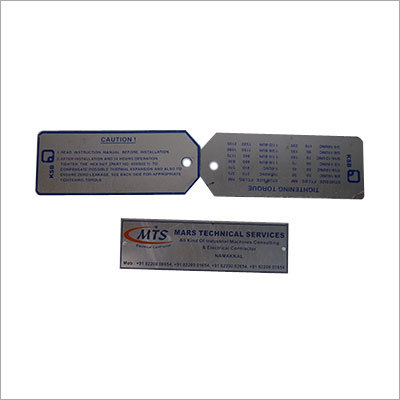 Anodizing Tag