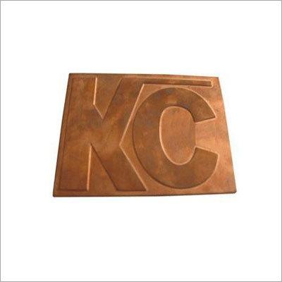Copper Die Etching