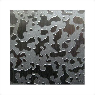 Aluminum Etched Lift Panel