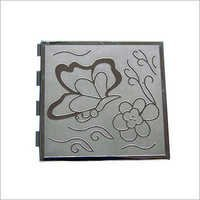 Aluminum Etched Box Cover