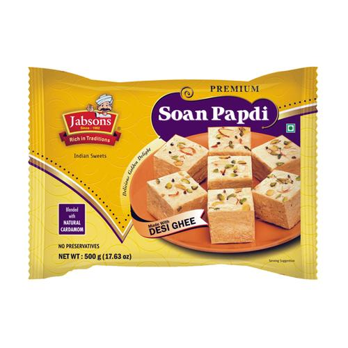 Soan Papdi-Coconut- Desi Ghee