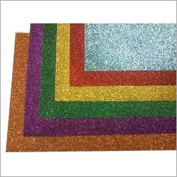 Handmade Glitter Paper