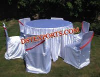 LYCRA CHAIR COVERS AND TABLE CLOTHES