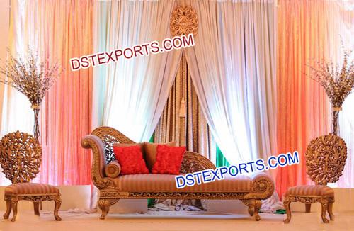 Asian Wedding Mehandi Function Furniture