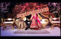 Pakistani Wedding Stage Decorations