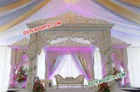 Maharaja Wedding Stage Decorations